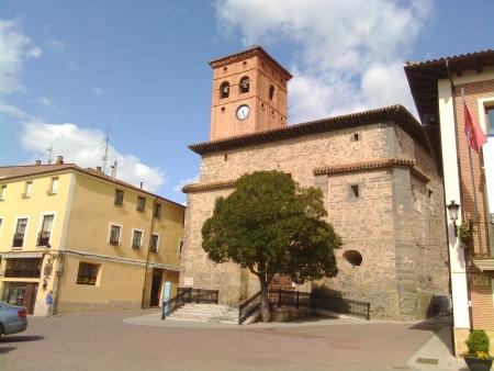 La chiesa di Belorado