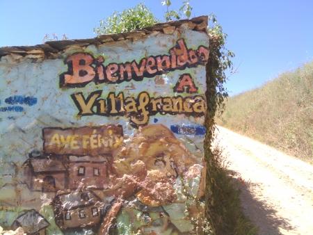 Arrivando con un gran caldo a Villafranca del Bierzo
