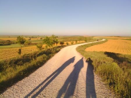 Il cammino con le ombre del mattino