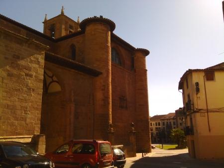 Chiesa in Najera, una cittadina nel cammino