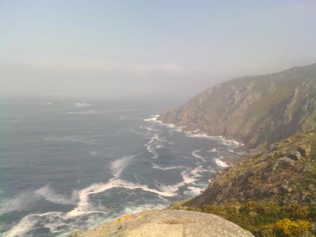 Vista alla costa dal faro