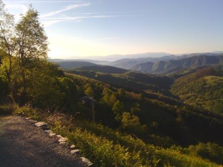 Vista da O cebreiro, 1296 mt