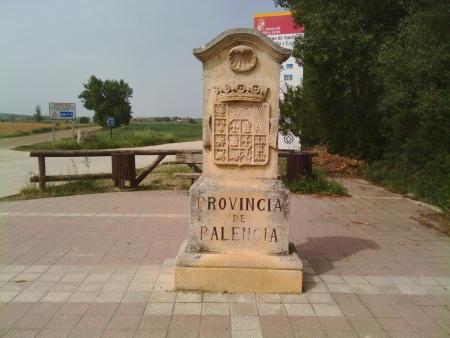 Entrando nella provincia di Palencia